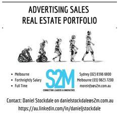 Advertising Sales, Job Posting, Melbourne, Connection, Career, Positivity, Technology, Digital, Memes