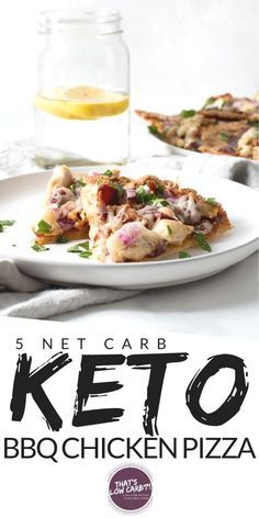 Keto Barbecue Chicken Pizza is one of our all-time favorite low carb pizza options perfect for pizza night, any night. Cut the carbs, not the flavor when it comes to your pizza. Free Keto Recipes, Heart Healthy Recipes, Low Carb Recipes, Real Food Recipes, Diabetic Recipes, Slow Cooker Turkey, Slow Cooker Chili, Healthy Slow Cooker, Barbecue Chicken Pizza