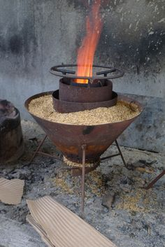 Reforestation and Rice Hull Stoves