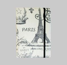 Kindle Cover Hardcover, Kindle Case, eReader, Kobo, Nook, Nexus 7, Kindle Fire HDX, Kindle Paperwhite, Nook GlowLight Paris on Cream