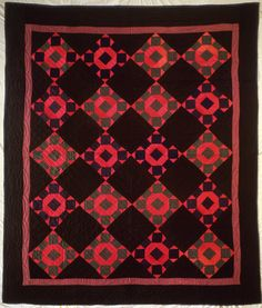 Midwestern Amish Rolling Stone Quilt, 1925.  American Folk Art Museum (NY)