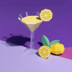VO | Valérie Oualid : Agent d'illustrateurs | Alexis Facca | Libération Illustrations, Grinch, Margarita, Martini, Paper Art, Artists, Tableware, Glass, Design