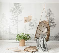 Mural PANORAMA by Scandinavian Surface #wallpaper