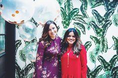 Bloggers Brooke from Just Add Stripes & Rebeca Zulch