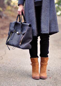 Элегантное сочетание: коричневый плюс серый 4