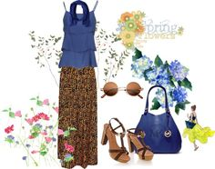 """Flowery Day with Ruffled"" by ila-yaseen on Polyvore"
