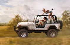 Girls just wanna have fun... JEEP Wrangler!!!!