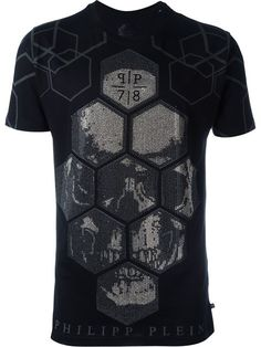 PHILIPP PLEIN 'Guy' T-Shirt. #philippplein #cloth #t-shirt
