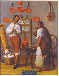 pintura mexicana del siglo xviii - Buscar con Google