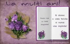 Felicitari de la multi ani - La multi ani - mesajeurarifelicitari.com Birthday Wishes, Happy Birthday, Hip Bones, Happy Brithday, Special Birthday Wishes, Urari La Multi Ani, Happy Birthday Funny, Birthday Greetings, Birthday Favors