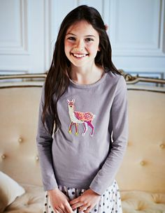I've+spotted+this+@BodenClothing+Woodland+Appliqué+T-shirt+