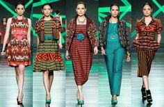 Tenun Timor Kebaya Dress, Batik Kebaya, Batik Dress, Traditional Fashion, Traditional Dresses, Batik Fashion, Boho Fashion, Asian Fabric, Thai Dress