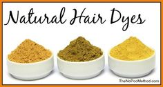How to dye your hair naturally with henna, coffee, lemons, and more. Natural hair color options.