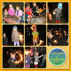 Coombe Mill: fireworks night