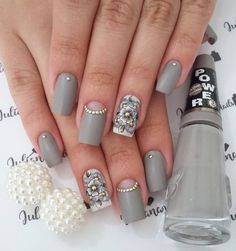 Best Nail Art Designs 2018 Every Girls Will Love These trendy Nails ideas would gain you amazing compliments. Joy Nails, Beauty Nails, Best Nail Art Designs, Short Nail Designs, Cute Nails, Pretty Nails, Fingernails Painted, Romantic Nails, Nail Pops