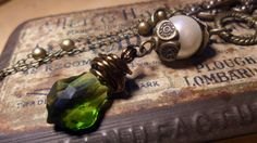 Vintage bohemian steampunk wire wrapped by LittleFloatingCraft, £14.00