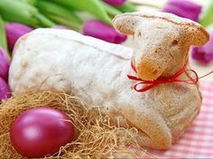 Photo about Easter lamb cake and purple tulips isolated on white background. Image of nature, anniversary, food - 13361009 Best German Food, Lamb Cake, Easter Lamb, Vintage Baking, Whole Milk Powder, Vegetarian Breakfast Recipes, Purple Tulips, Easter Traditions, Easter Celebration