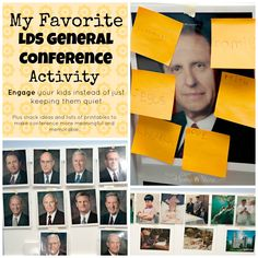 The Ultimate list of Ideas for making General Conference Meaningful for all ages: http://www.yourownhomestore.com/?p=9461