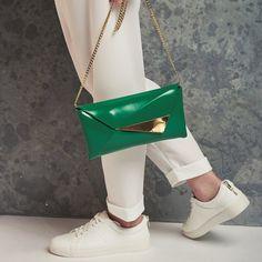 Clutch purse   vegan clutch bag   goreous green evening handbag   special  occassion bag   349daf2089d71