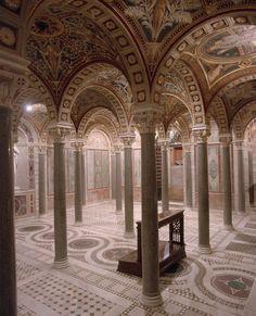 Abadía benedictina de Santa Cecilia, Trastevere, Roma