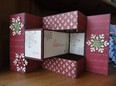Snowflake Trifold by strawberry11 - Cards and Paper Crafts at Splitcoaststampers