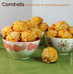 Cornballs (an Arrested Development tribute) - Emily Bites. 4pp for four bites