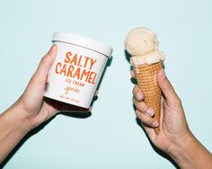 Noted: New Packaging for Jeni's Splendid Ice Cream done In-house