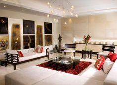 El encanto del minimalismo.  Muebles modernos, de líneas simples y a la vez funcionales, componen y complementan espacios de buen gusto, con el estilo de Adriana Hoyos.