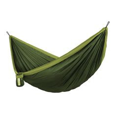 LA SIESTA Colibri 3 Forest Fabric Hammock at Lowe's. Small, light, brightly coloured - with the Colibri travel hammock you can create your own personal oasis of well-being everywhere, whether on the road or Hanging Hammock Chair, Swinging Chair, Nylons, Double Hammock With Stand, Hammock Straps, Single Travel, Fixation, New Travel, Camping Hacks