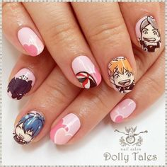 Cute nails by Dolly Tales