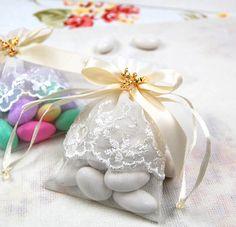 Traditional Sicilian Wedding confetti -sugared almonds  memories...these are SO good...