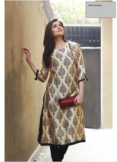 Salwar Designs, Kurta Designs Women, Silk Kurti Designs, Printed Kurti Designs, Churidar Neck Designs, Designer Salwar Kameez, Designer Sarees, Indian Attire, Indian Ethnic Wear