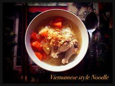Vietnamese Style Nooddle Soup