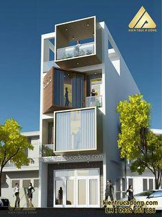 Bungalow House Design, House Front Design, Small House Design, Modern House Design, Home Building Design, Building A House, Narrow House Designs, Casa Loft, Architectural House Plans