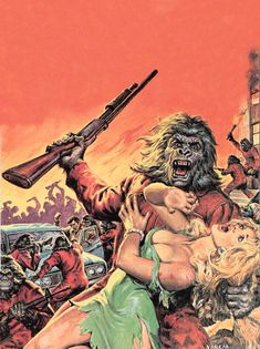 From the Sorcerer's Skull: Attack of the Soviet Ape-Men!