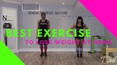 Best Exercise To Lose Weight At Home - 20 Minute HIIT Workout #3