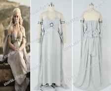 Game of Thrones Daenerys Targaryen Mother of Dragons Cosplay New Costume Dress