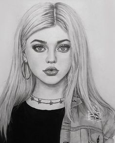 Likes, 15 Kommentare – Art Featuring Page … – … - Kunst Skizzen Amazing Drawings, Realistic Drawings, Beautiful Drawings, Cool Drawings, Girl Drawing Sketches, Girl Sketch, Pencil Art Drawings, Drawing Art, Drawing Tips