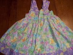 A Summer Dress I made for my Grand Daughter 2013