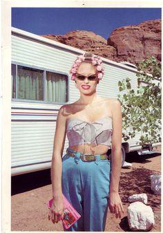80s trailer glamour