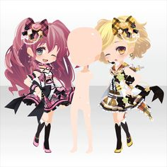 Shining ☆ Starlight Heart Magic | @ games - At Games - Anime Outfits, Girl Outfits, Cute Outfits, Chibi Characters, Cocoppa Play, Star Girl, Drawing Clothes, Character Outfits, Costume Design