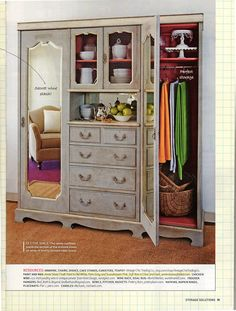 Chalk Paint® article and pics in Storage Solutions Magazine