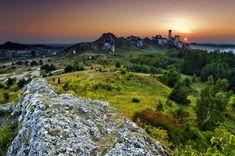 Szlak Orlich Gniazd - zamek w Olsztynie