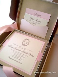 Featured Invitation Design: Reneé & Charles's Invitation Suite by NeatCards (2)