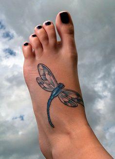 Dragonfly #tattoo – Artist: Bryan Hall - 50+ Dragonfly Tattoos for Women <3 <3