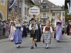Historical costumes Mittenwald, Germany  -  Love it