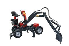 JMEKA - The multi-function mini-digger with continuoed rotation Rc Construction Equipment, Car Lifter, Walk Behind Tractor, Kinetic Toys, Tractor Accessories, Paving Pattern, Atv Trailers, Custom Metal Fabrication, Trailer Plans