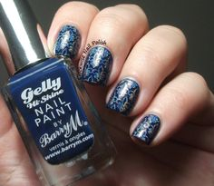 The Clockwise Nail Polish: Barry M Gelly Blackberry