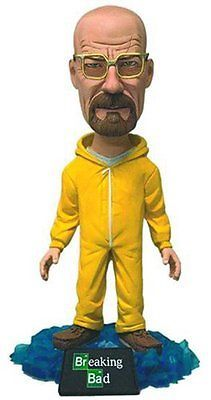 #Mezco - breaking bad - walter #white in #yellow suit - bobblehead,  View more on the LINK: http://www.zeppy.io/product/gb/2/272238704100/