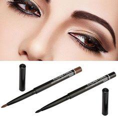 Bluelans New Waterproof Rotary Gel Cream Eye Liner Black Brown Eyeliner Pen Makeup Cosmetic Tool 6UWN